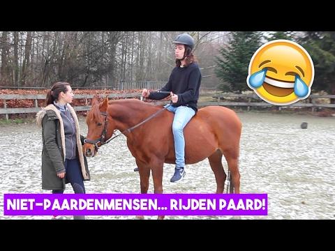 Niet-paardenmensen gaan paardrijden! | LeanneAbigail