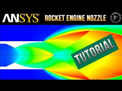 ansys-fluent:-rocket-engine-nozzle-(with-exhaust-plume)---detailed-&-accurate-cfd-tutorial