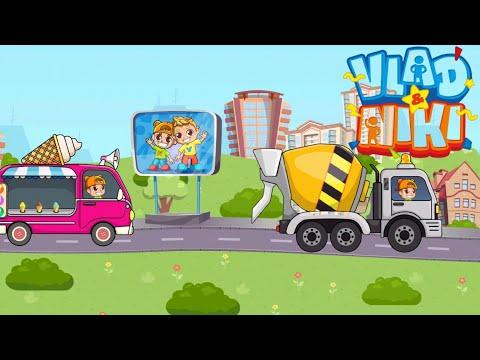 Vlad and niki  cara games for kids monster truck official game Vlad & niki mobil ice cream