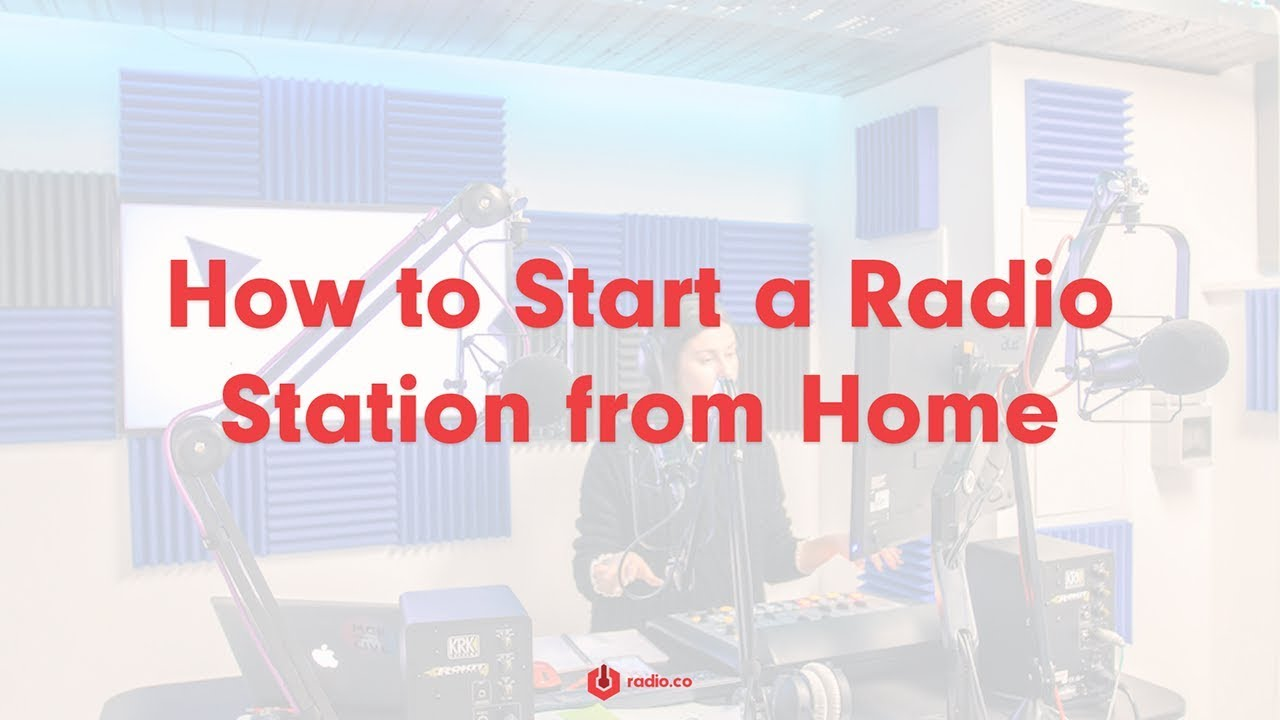 Create Your Own Internet Radio Station from Home | Radio co