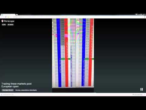 Live Price Ladder Order Flow Trading