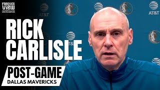 Rick Carlisle Marvels at Luka Doncic 31 Point/20 Assist Triple Double & Talks Finney-Smith's Journey