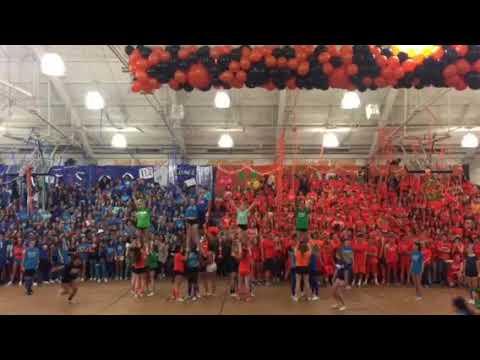 Fall Spirit Rally Los Gatos High School Varsity Cheer