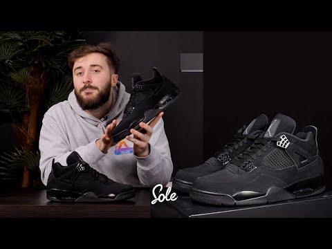 """Nike Air Jordan 4 """"Black Cat"""" Unboxing   Hype, Resale & Review"""