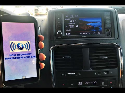 How To Connect Bluetooth In 2019 Dodge Grand Caravan Youtube
