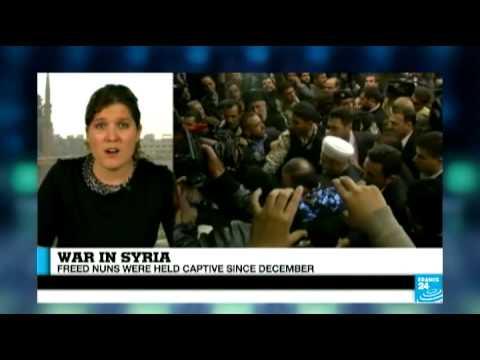 "Syria: the released nuns were ""thankful both to Jabhat al-Nusra and Al-Qaeda"""