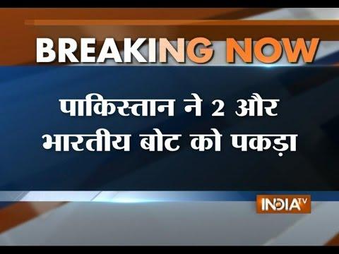 Pakistani Marine Security Captured 2 Indian Boats with 12 Fishermen