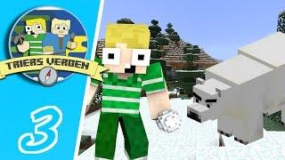 Dansk Minecraft - Triers Verden #03: ISBJØRN ANGRIBER!!