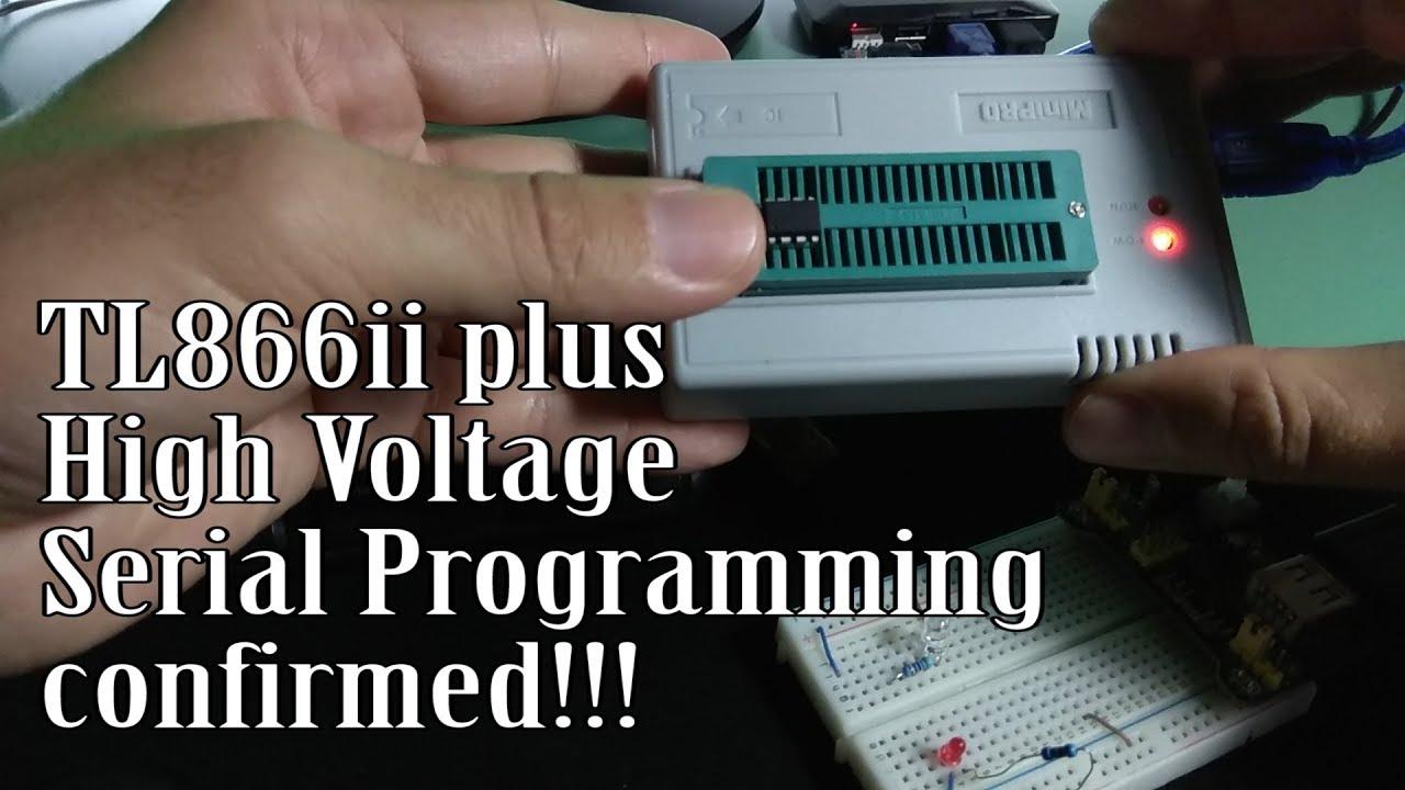 TL866II Plus & AVR Attiny fuse reset!