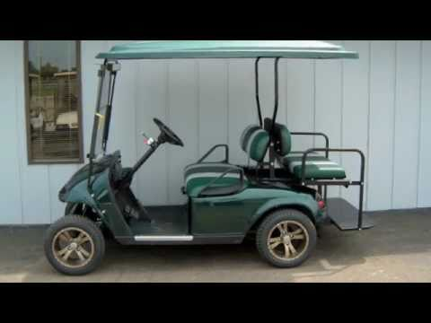 2006 E-Z-GO Gas Hunter Green Street-Ready Golf Cart