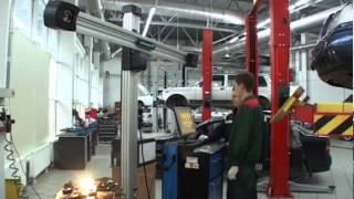 Регулировка углов установки колес (развал-схождение)(, 2013-01-14T12:34:07.000Z)
