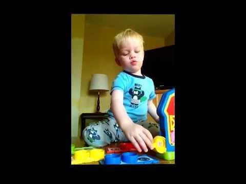 Barnyard Bingo (Jesse At Two Years Old)