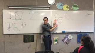 Parallel Lines (2 of 5: Constructing Parallel Lines to take advantages of the properties)