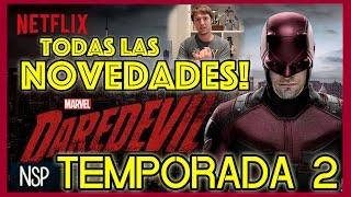 DAREDEVIL | NOVEDADES TEMPORADA 2 | THE PUNISHER + SPIDER-MAN Y MUCHOS SECRETOS MAS!