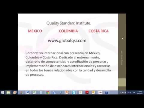 iso 9001 15 16 Abril 2015