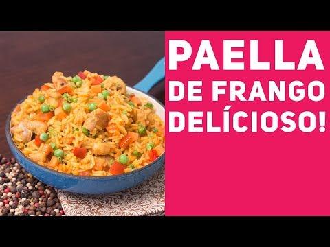 Paella de Frango - Receitas de Minuto #91