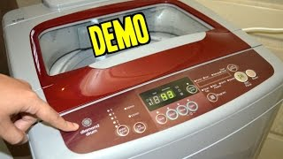 Samsung 6.2 kg fully automatic top loading washing machine [wa62h3h5qrp] demo | ur indianconsumer