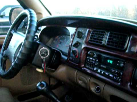 1998 Dodge Ram 2500 4x4 Reg Cab Cummins 5 Speed Diesel