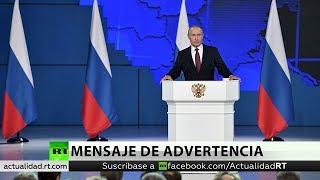 Putin explica cómo responderá Rusia a las posibles amenazas