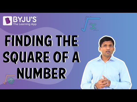 Finding the Square of a Number