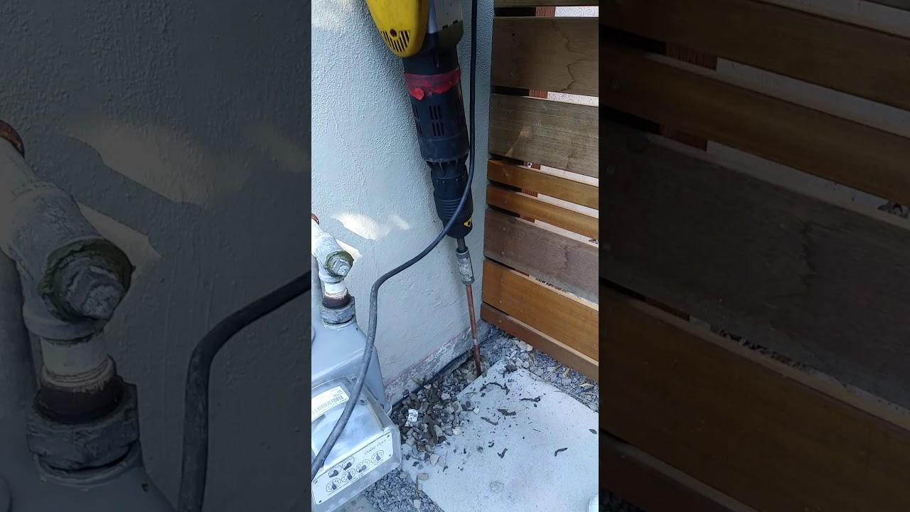 Ground Rod Install - YouTube