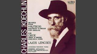 Sonate für Oboe und Klavier, Op. 58: Final - Allegro moderato