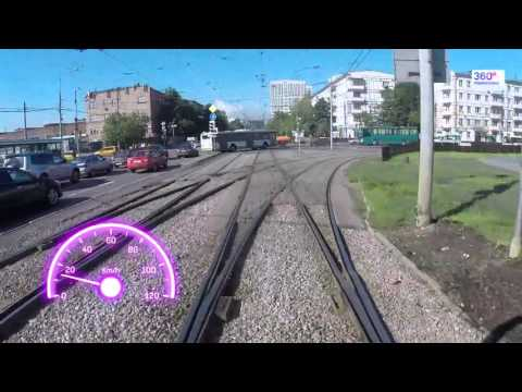 Travel Russia Moscow by tram №12