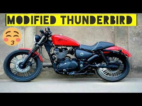 royal enfield thunderbird images