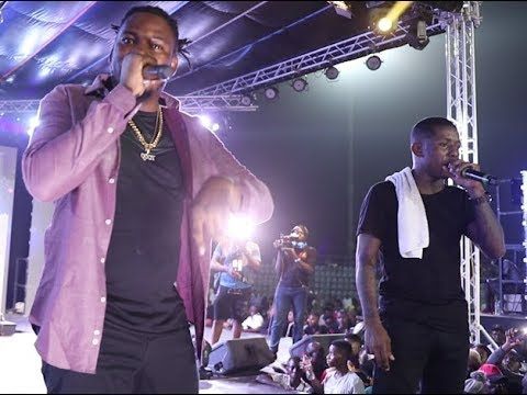 Download Q-dot and Small doctor kills the show at Omo Better concert in Agege Stadium