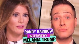 Baixar RANDY RAINBOW Interviews MELANIA TRUMP!