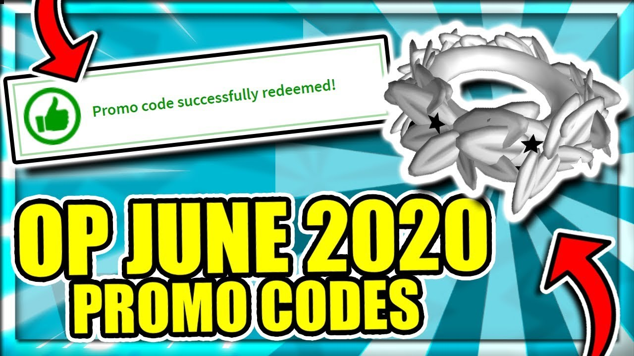 June 2020 All Working Roblox Promo Codes New Free Items