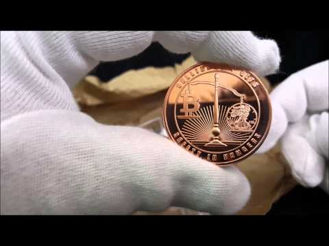 2015   Bullion Not Bits 1 oz Copper Round | Safety in Numbers Unboxing Video