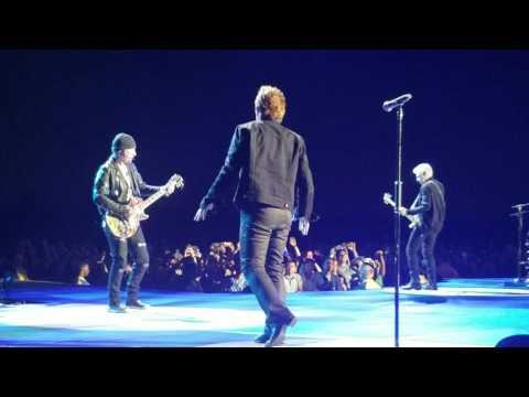 U2 New Years Day; Cleveland 7/1/17