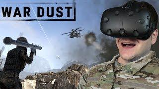 Battlefield na okularach VR? - WAR DUST (HTC VIVE VR)