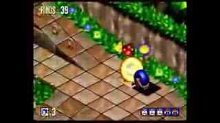 Sonic 3D Blast (Sega Saturn) Full Playthrough