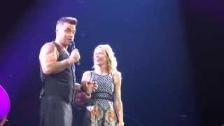 Robbie Williams -  Hot Fudge - 14/10/15 Adelaide HD FRONT ROW