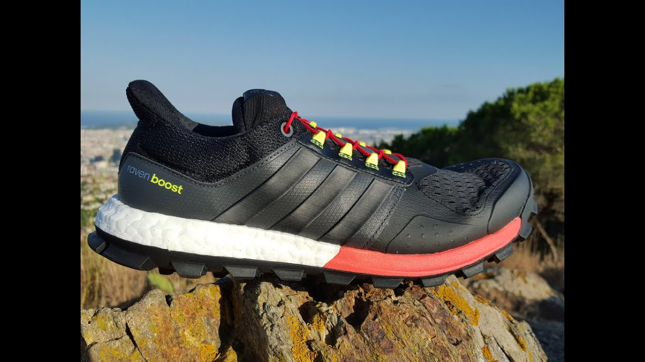 zapatillas trail adidas raven boost