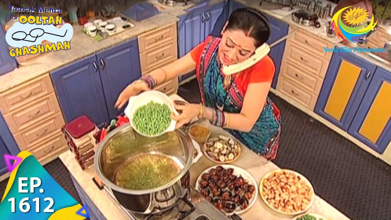 Download Taarak Mehta Ka Ooltah Chashmah - Episode 1612 - Full Episode