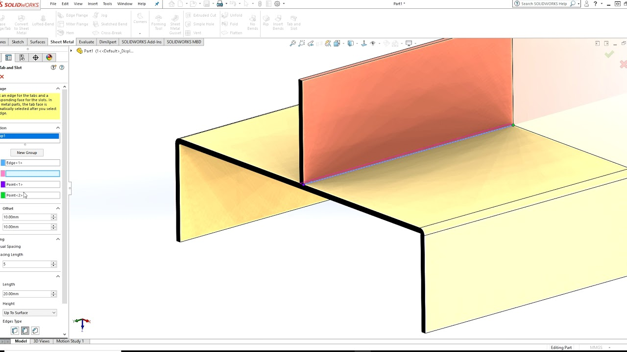 Solidworks 2018 Sheet Metal New Feature Youtube