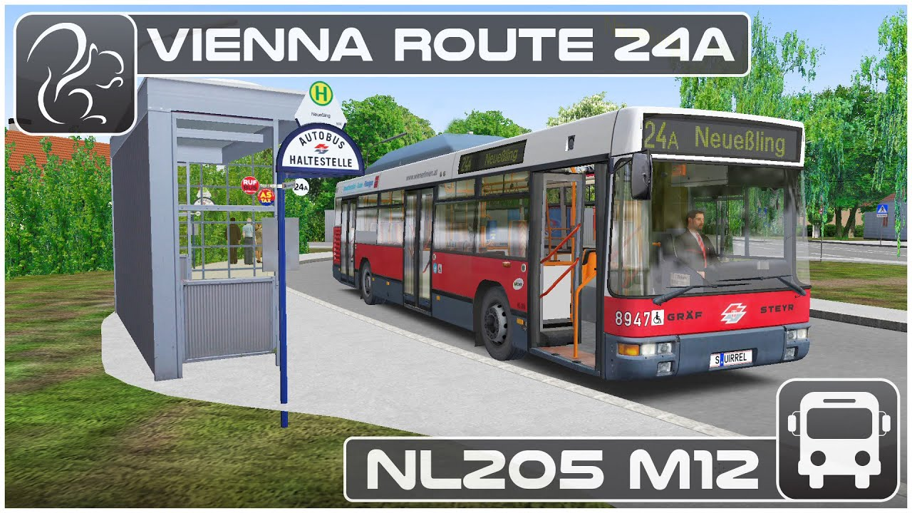 OMSI 2 - Vienna Route 24a (NL205 M12)