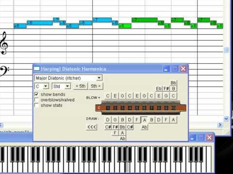Harmonica blues harmonica tabs in c : Harmonica : harmonica tabs in c blues Harmonica Tabs In C and ...