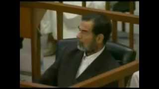 شاهده بطله في محكمة صدام حسين