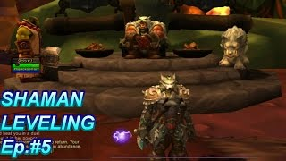 WOW - WOD Shaman Gameplay 90 - 100 Leveling - Let The Hunt Begin! Ep.#5