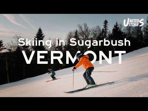 Skiing In Sugarbush, Vermont