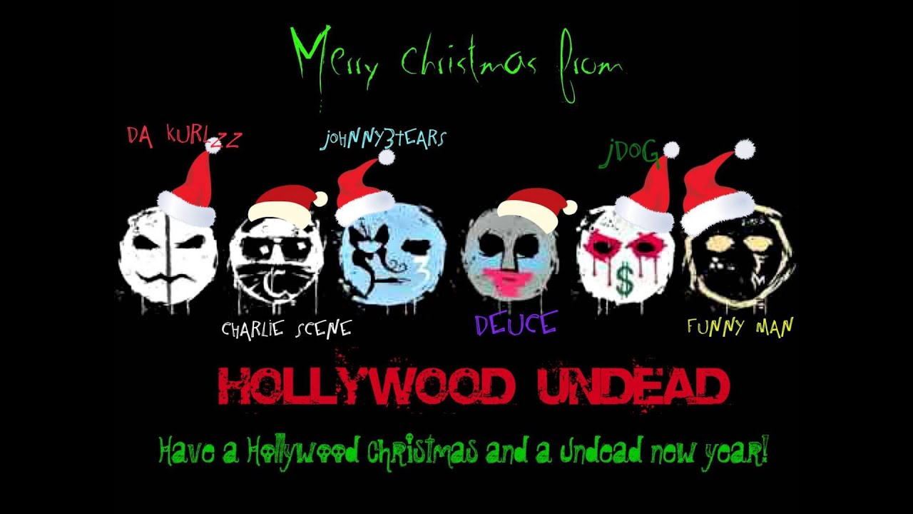 hollywood undead christmas in hollywood - YouTube