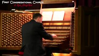 Bach - Passacaglia in C Minor, BWV 582 - Largest Church Pipe Organ in World