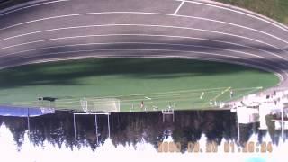 FPV girl soccer heli