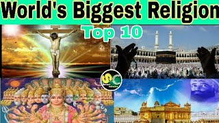 World's largest religion Top 10  / #SmartCollection