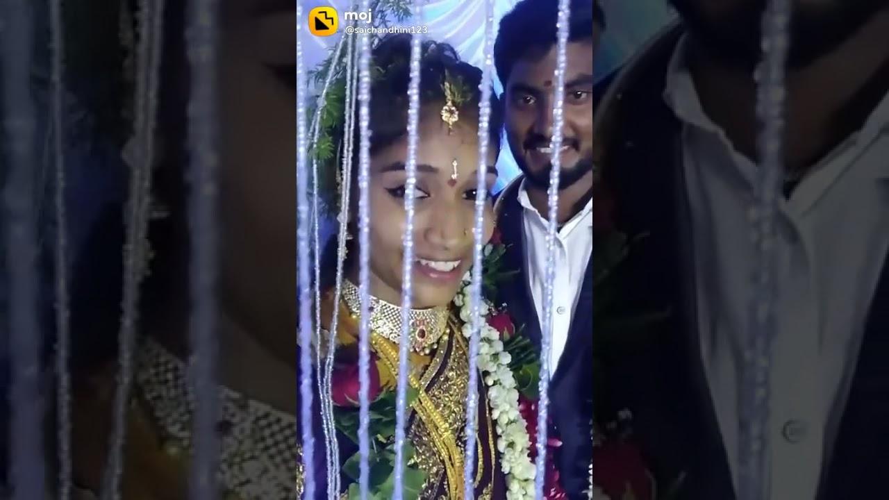 Saichandini tiktok videos popular videos marriage videos(1)