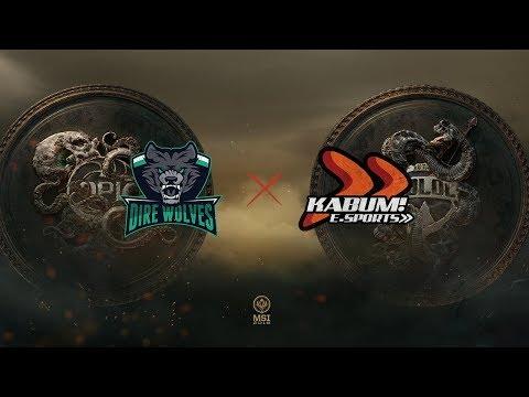 Dire Wolves x KaBuM (MSI 2018 - Fase de Entrada - Rodada 1 - Dia 4)